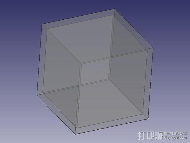 中空刻度块 3D模型  图4