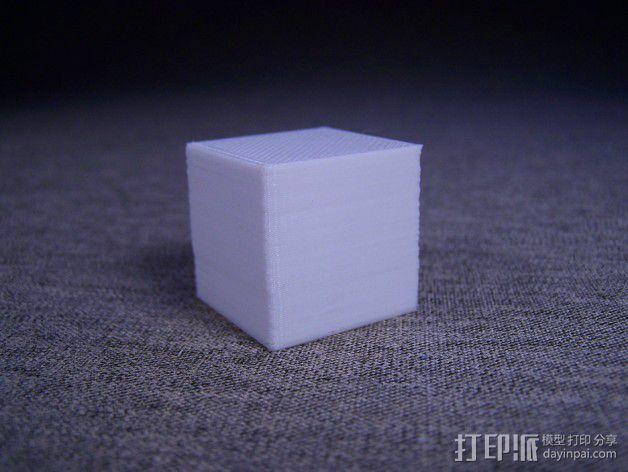 中空刻度块 3D模型  图3