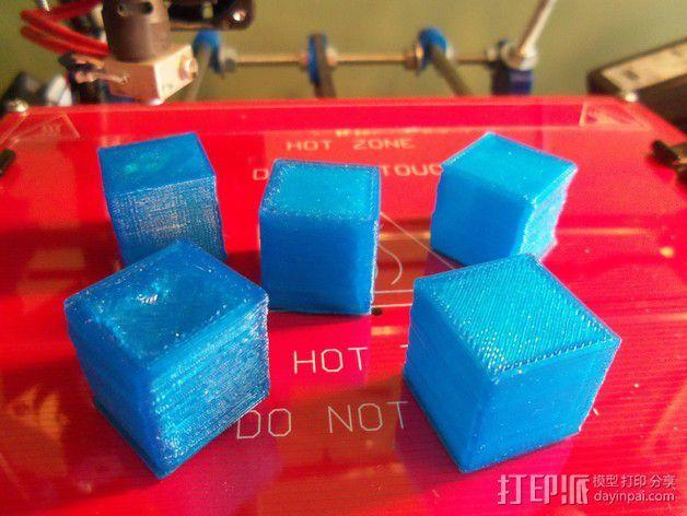 中空刻度块 3D模型  图5