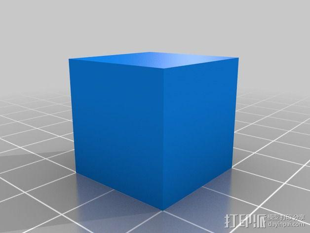 中空刻度块 3D模型  图8