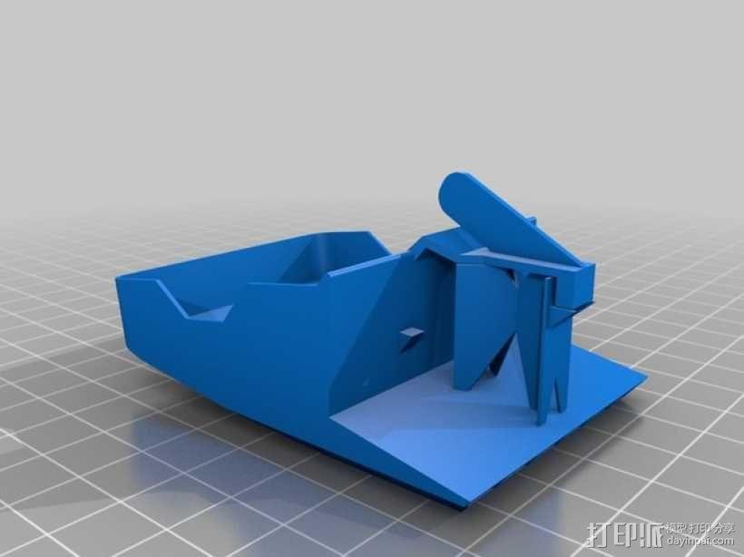 风扇座风扇架 3D模型  图2