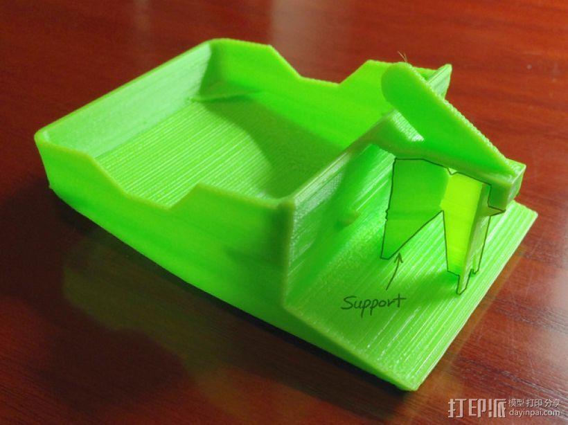 风扇座风扇架 3D模型  图5