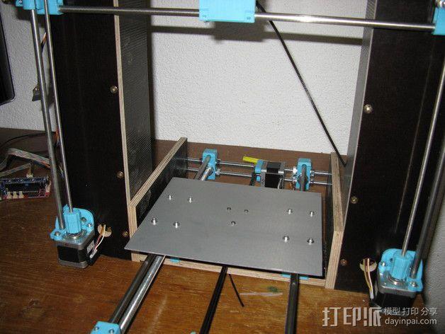 凸边齿轮旋钮 3D模型  图5