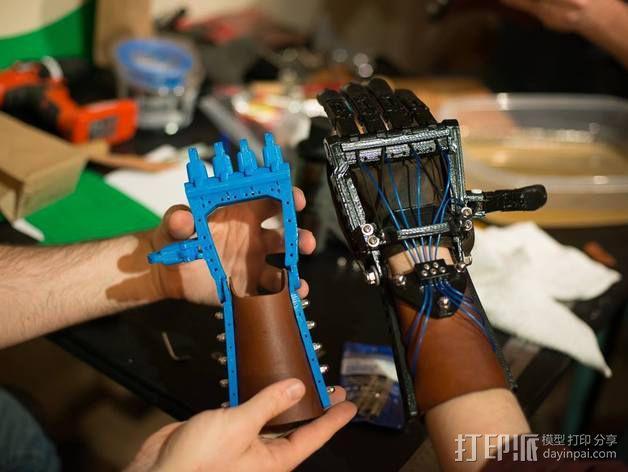 仿生手 义肢 3D模型  图1