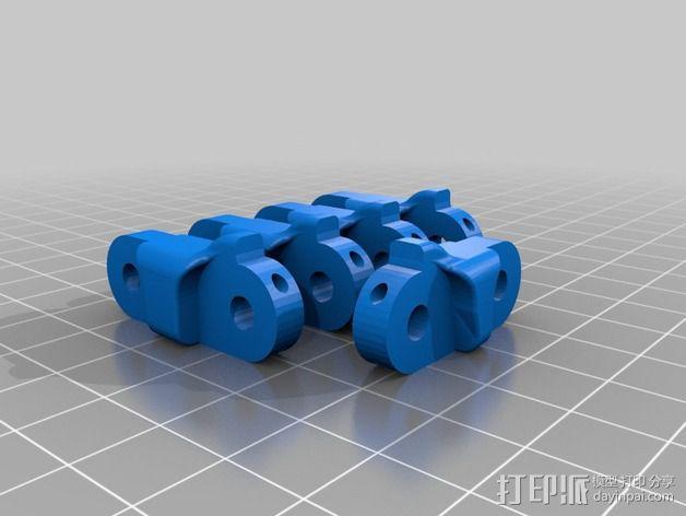 仿生手 义肢 3D模型  图2