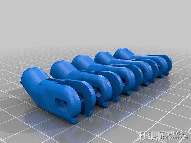 仿生手 义肢 3D模型  图3