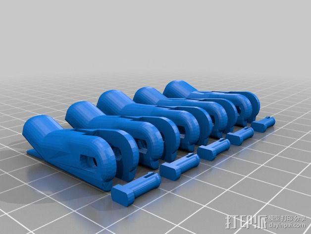 仿生手 义肢 3D模型  图6
