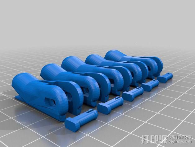 仿生手 义肢 3D模型  图8