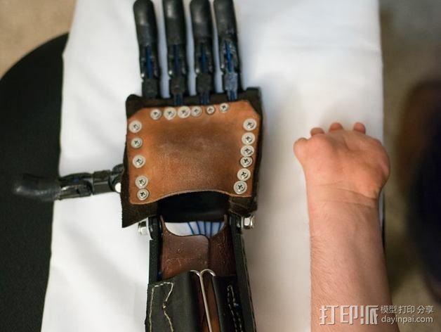 仿生手 义肢 3D模型  图22