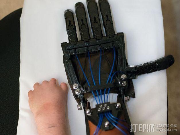 仿生手 义肢 3D模型  图23