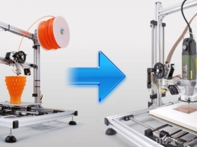 打印机工具架 3D模型  图1