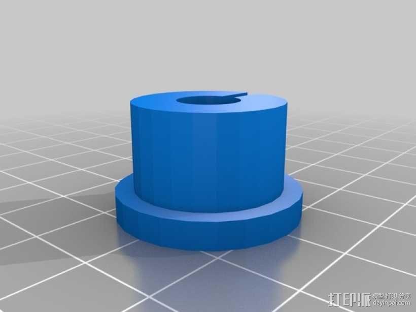 打印机工具架 3D模型  图2