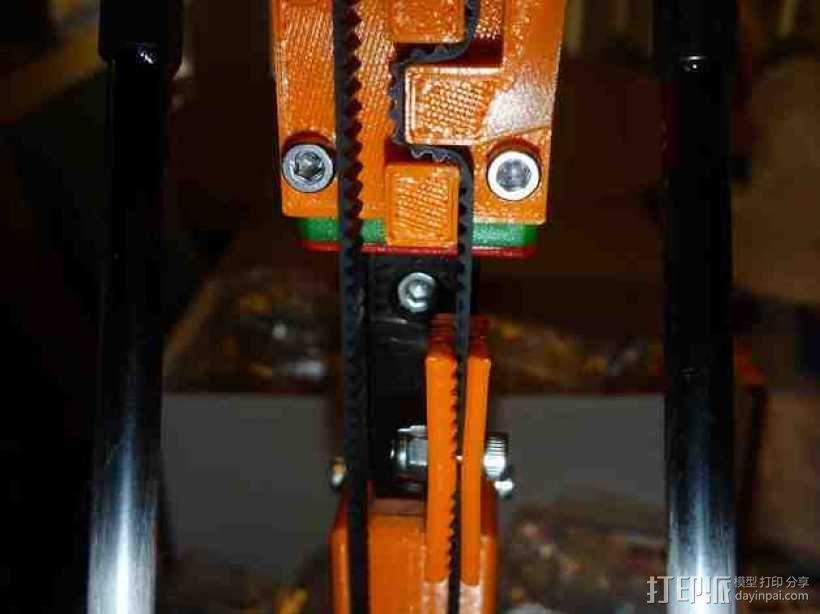 Mini Kossel皮带接合器 3D模型  图3