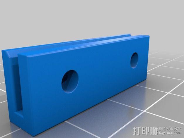 Mini Kossel皮带接合器 3D模型  图2