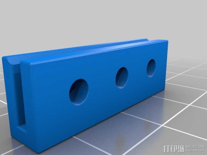 Mini Kossel皮带接合器 3D模型  图5