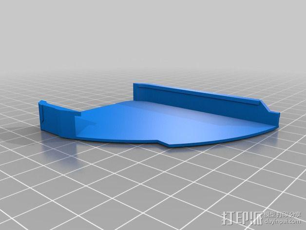 光晕元素iPhone5手机套 3D模型  图2