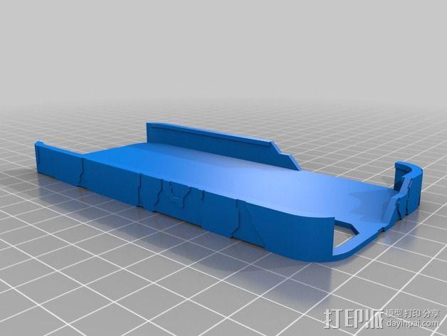光晕元素iPhone5手机套 3D模型  图4