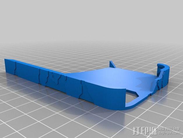 光晕元素iPhone5手机套 3D模型  图3