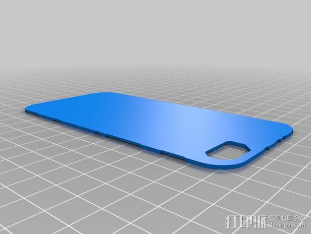 光晕元素iPhone5手机套 3D模型  图8