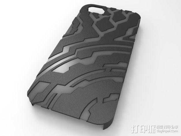 光晕元素iPhone5手机套 3D模型  图5