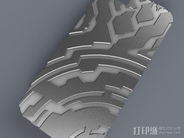 光晕元素iPhone5手机套 3D模型  图6