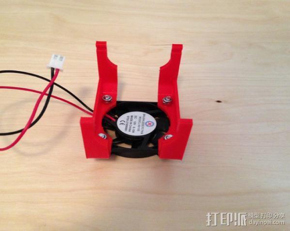 风扇架 风扇座 3D模型  图3