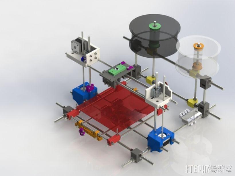 RodBot - 3D打印机 3D模型  图1