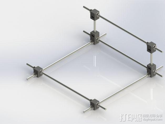 RodBot - 3D打印机 3D模型  图4