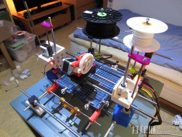 RodBot - 3D打印机 3D模型  图6