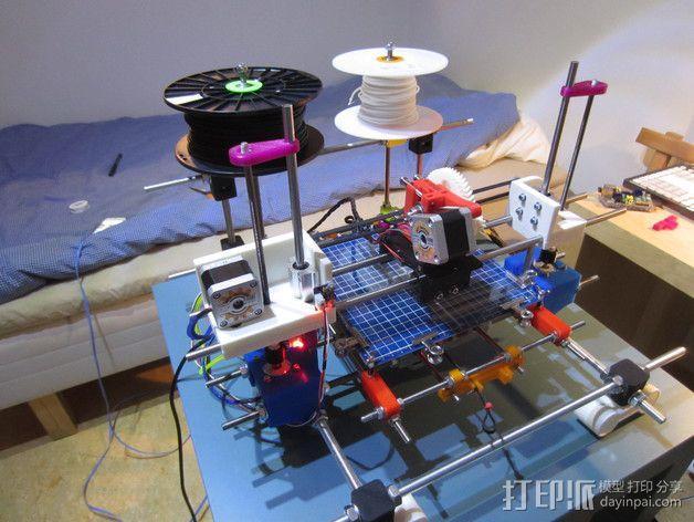 RodBot - 3D打印机 3D模型  图10