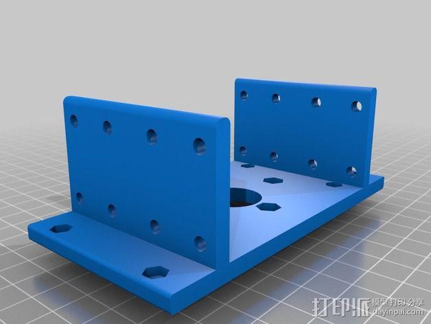 RodBot - 3D打印机 3D模型  图24