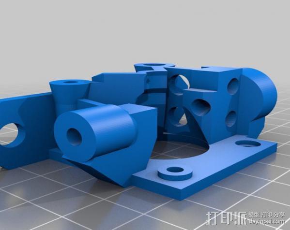 Bowden 鲍登挤出机 3D模型  图4