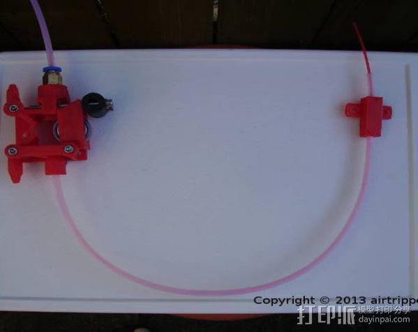 Bowden 鲍登挤出机 3D模型  图10
