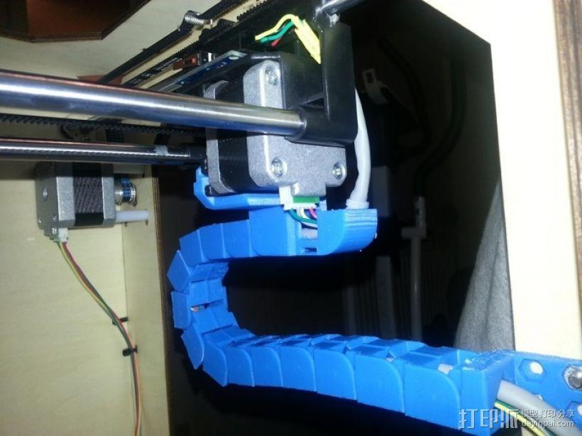 导线锚链 3D模型  图1
