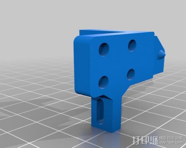 导线锚链 3D模型  图3