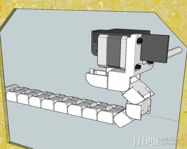导线锚链 3D模型  图6