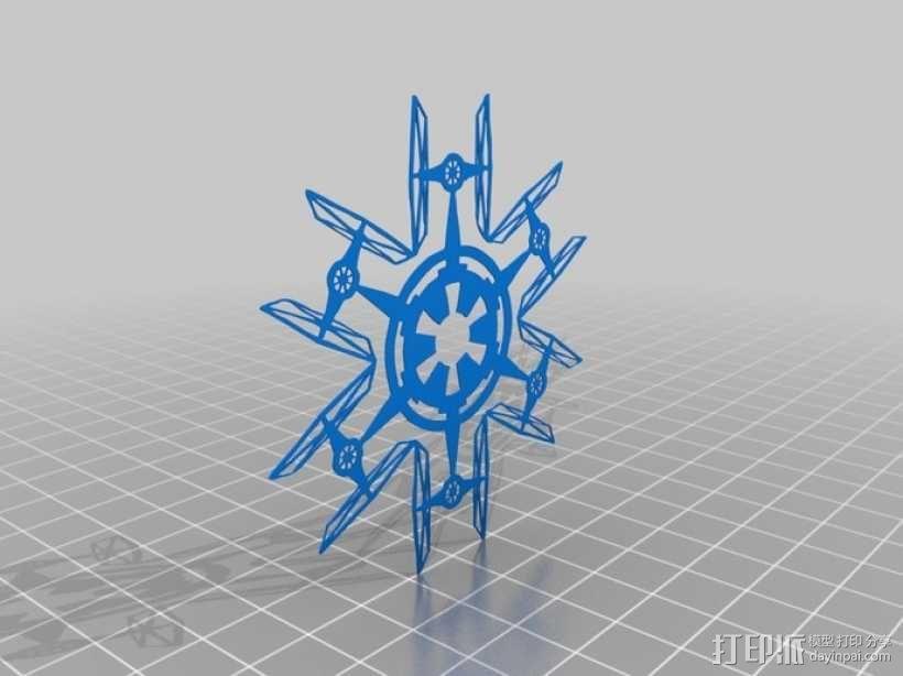 星球大战装饰物 3D模型  图2