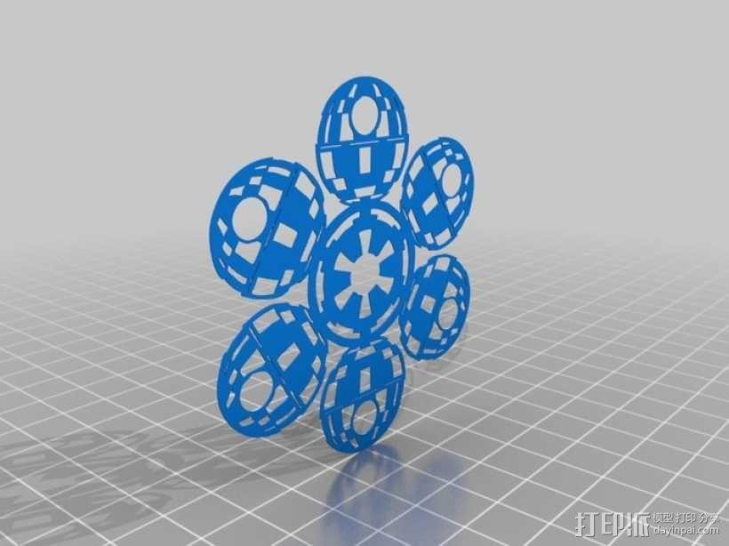 星球大战装饰物 3D模型  图4