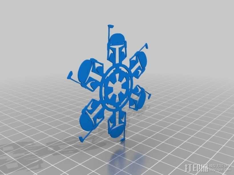 星球大战装饰物 3D模型  图5
