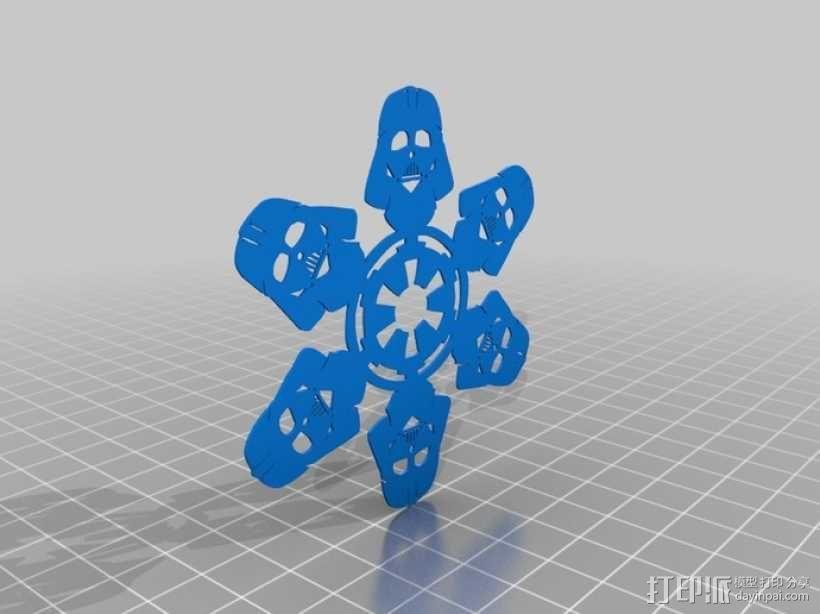 星球大战装饰物 3D模型  图6