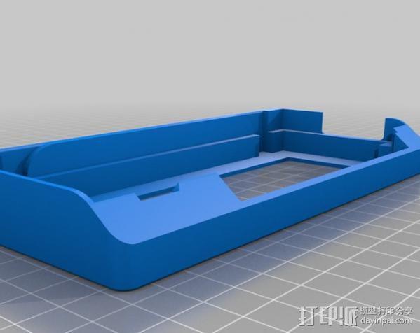 Prusa i3打印机控制器显示屏支架 3D模型  图1