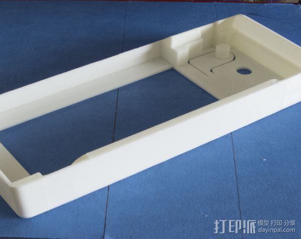 Prusa i3打印机控制器显示屏支架 3D模型  图4