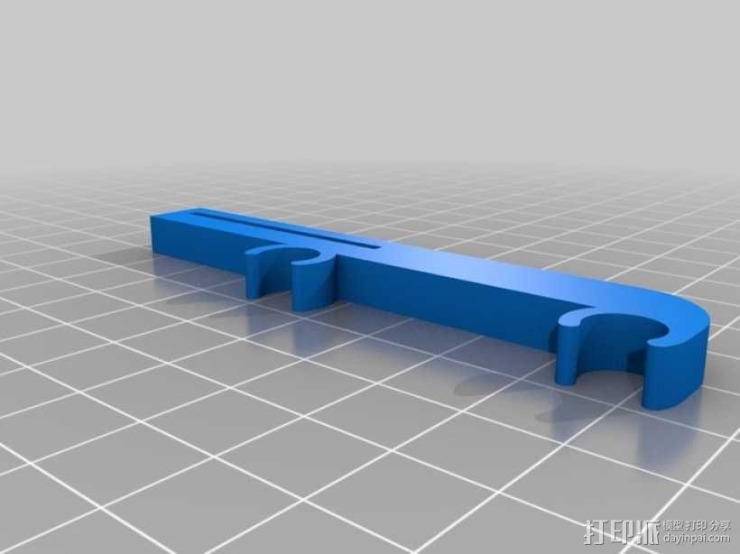 打印机X轴限位开关夹 3D模型  图1