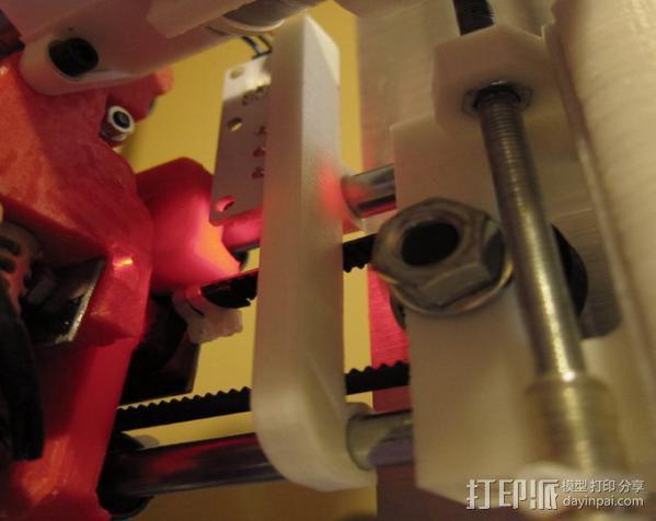 打印机X轴限位开关夹 3D模型  图6