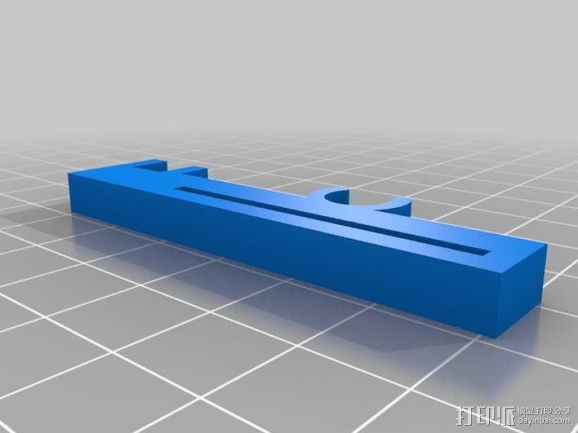 打印机Z轴限位开关夹 3D模型  图1