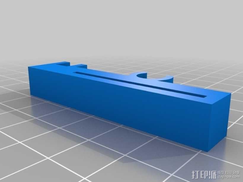 打印机Z轴限位开关夹 3D模型  图5
