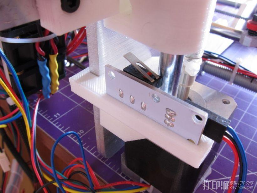 打印机Z轴限位开关夹 3D模型  图8
