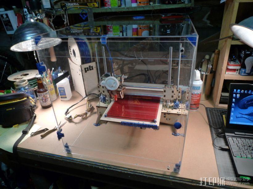 3D打印机外机箱 3D模型  图1