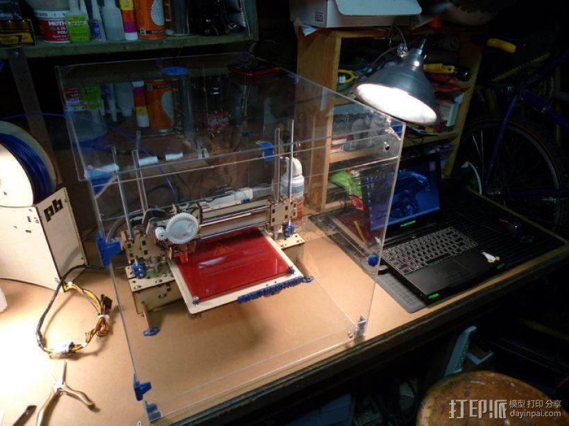 3D打印机外机箱 3D模型  图2