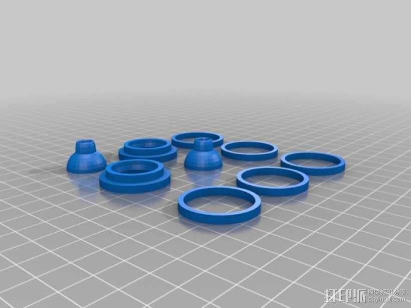 3D打印机外机箱 3D模型  图6